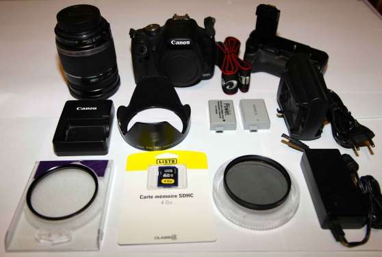 CANON EOS 500D Complet