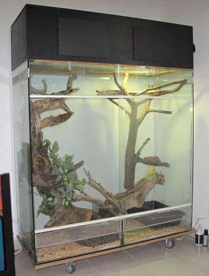 vend grand terrarium tout verre animaux aquarium vivarium lavaur reference ani aqu ven. Black Bedroom Furniture Sets. Home Design Ideas