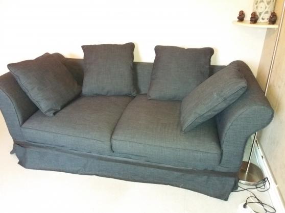 Canap gris montreuil meubles d coration canap s for Meuble contre canape