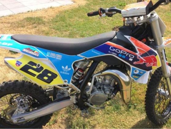 Annonce occasion, vente ou achat 'moto de cross ktm 85 sx'