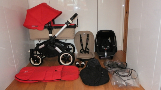 Annonce occasion, vente ou achat 'Rouge&Sable Bugaboo Buffalo +maxicosy'