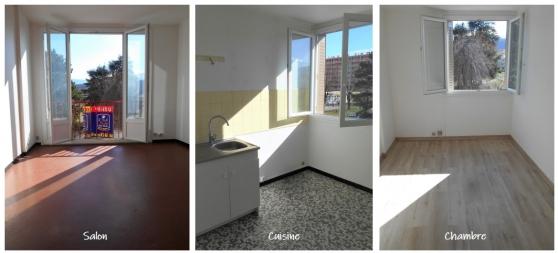 Appartement T2 de 39 m² à Pont-de-Claix