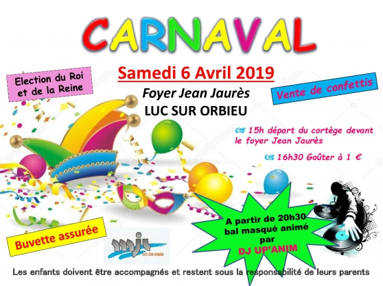Annonce occasion, vente ou achat 'CARNAVAL \