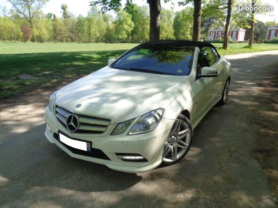 Annonce occasion, vente ou achat 'Mercedes e 350 cdi cabriolet executive 7'