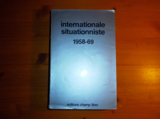 Annonce occasion, vente ou achat 'INTERNATIONALE SITUATIONNISTE 1958-69'