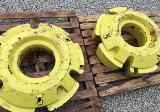 Annonce occasion, vente ou achat 'Masse de roue 625kg'