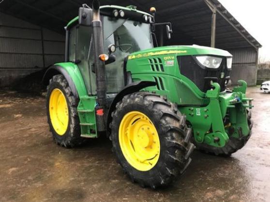 Tracteur agricole - John Deere 6105M (20