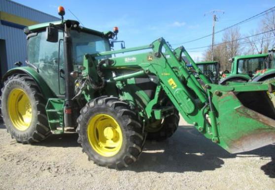 Annonce occasion, vente ou achat 'Tracteur agricole - John Deere 6115R (20'