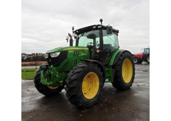 Tracteur agricole - John Deere 6125R AUT