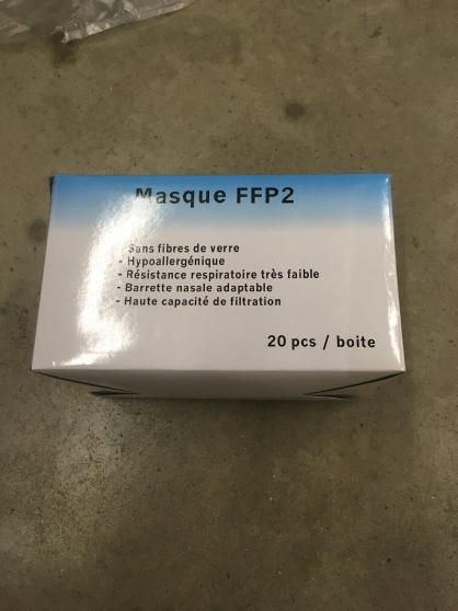 Annonce occasion, vente ou achat 'Masques ffp2'