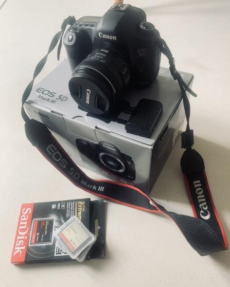 Vends Canon 5D mark III & accessoires