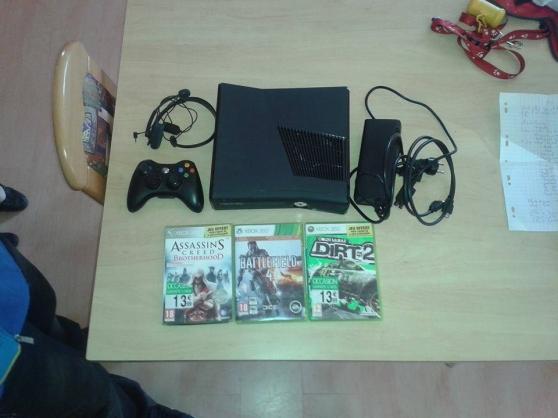 Xbox 360 Elite + 1 Ans Xbox Live + Jeu