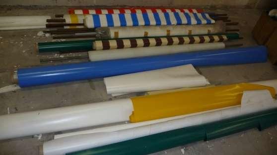 Vend PVC 650gr/m² au mètre linéaire