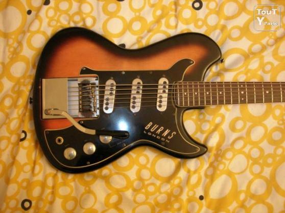 Guitare Basse BURNS LONDON de 1962