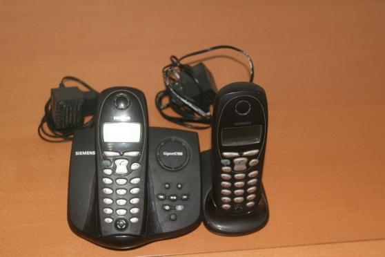 Téléphone Siemens sans fil base + 1 comb