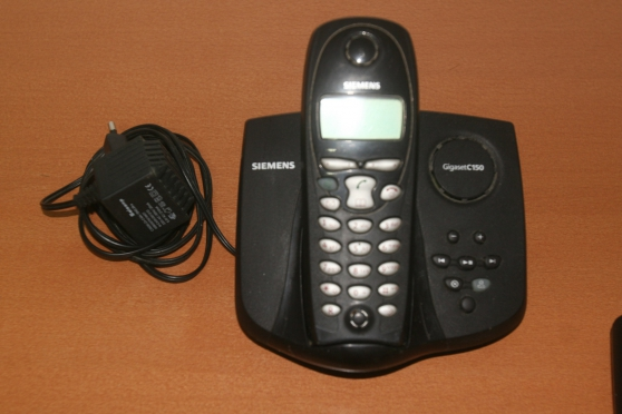 Téléphone Siemens sans fil base + 1 comb - Photo 3