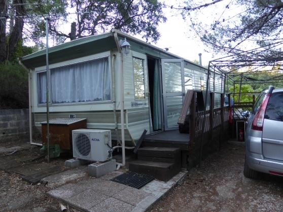 vend mobil home sur terrain de camping - Annonce gratuite marche.fr