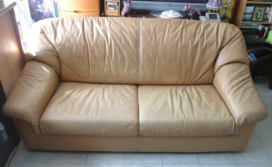 Canap cuir 3 places meubles d coration canap s paris for Meuble contre canape