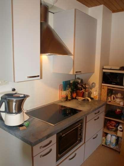Cuisine integree sp cial petit espace meubles d coration for Meubles cuisine integree