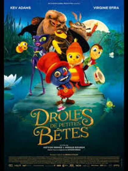 """Petite Annonce : 2 places de cinéma \""""drôle de petite bête - 2 places de cinéma \""""Drôle de petite Bêtes\""""  Places valables dans"""