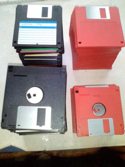 disquettes format 3.5 lots de 10 pièces - Annonce gratuite marche.fr