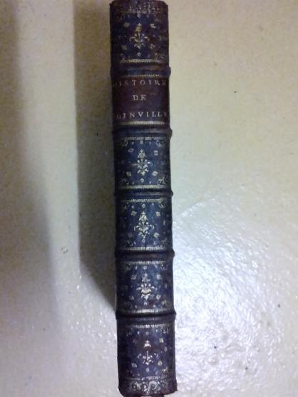 Petite Annonce : Histoire de s. louis roi de france - Joinville. Histoire de S. Louys IX du nom, roi de France Edition