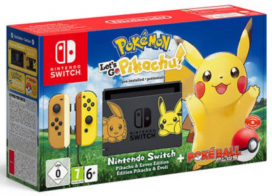 Console Nintendo SWITCH + Pokemon Allons