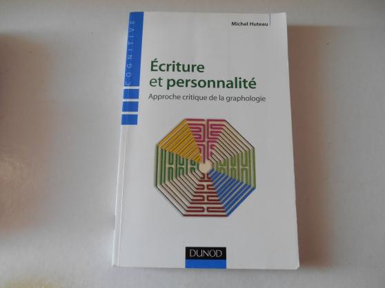 Annonce occasion, vente ou achat 'écriture et personnalité'
