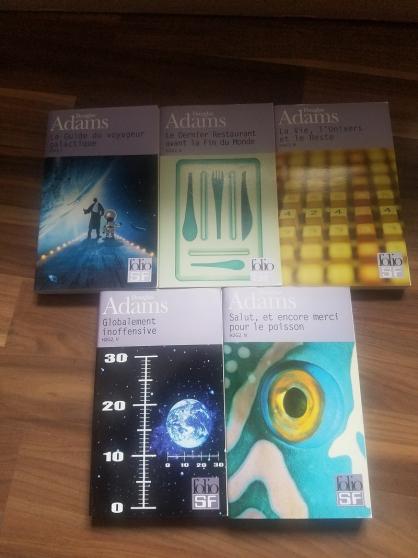 Annonce occasion, vente ou achat 'Le guide du voyageur galactique - Folio'