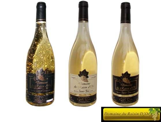 Vin à paillette d'or de Bourgogne