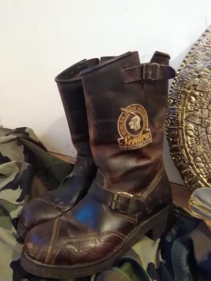 bottes motards t 43 sendra boots tbe