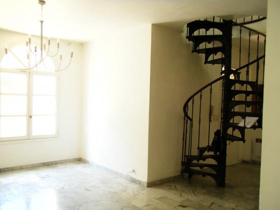 Magnifique escalier fonte en colimaçon - Photo 3