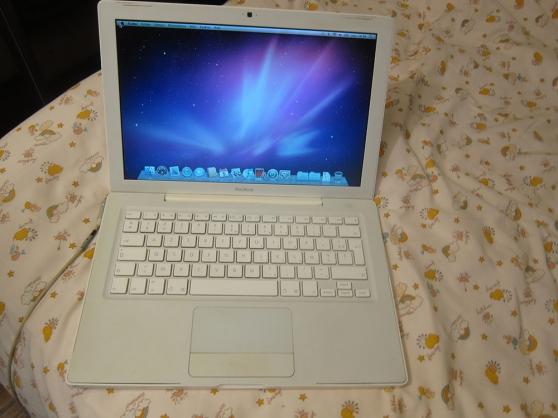 """Macbook blanc 13\"""" 1,83 Ghz A1181 DE 2006 - Photo 2"""