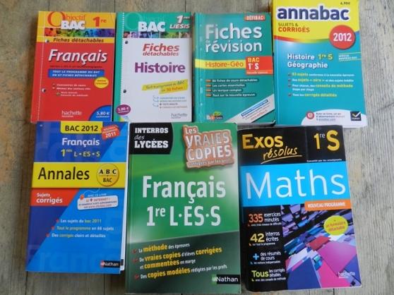 Livres + annales 1er et term S