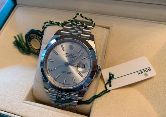 Annonce occasion, vente ou achat 'Rolex Datejust 41mm'