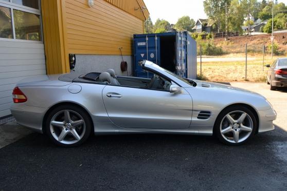 Mercedes Classe SL (R230) 500 BA