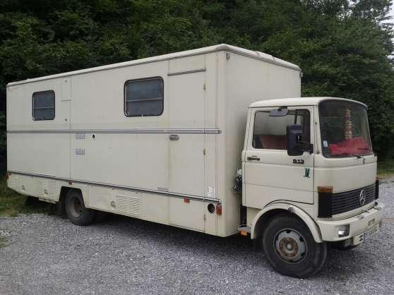 vend mercedes 913 lp st lary soulan caravanes camping car camping car st lary soulan. Black Bedroom Furniture Sets. Home Design Ideas