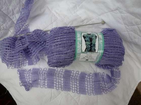 nouvelle laine écharpe volants dentell