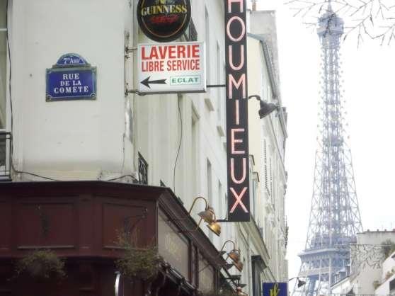 Studio, Paris7, internet rapide gratuit
