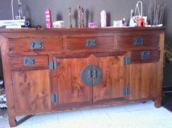 meuble style chinois acajou meubles d coration meuble lunel reference meu meu meu petite. Black Bedroom Furniture Sets. Home Design Ideas