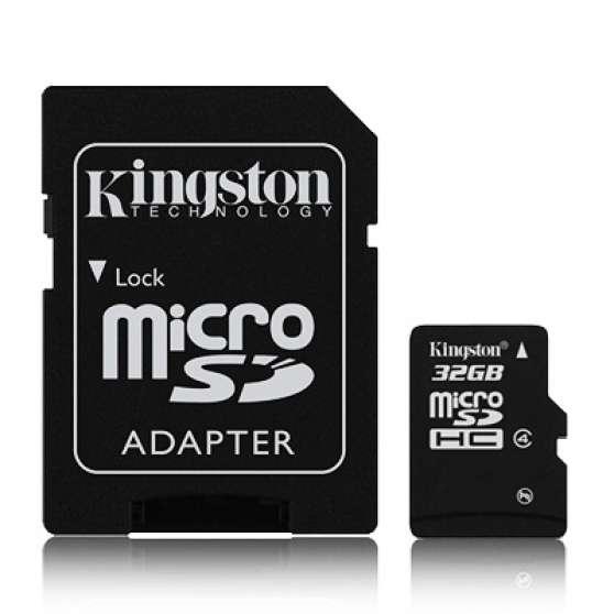 Annonce occasion, vente ou achat 'carte SD HC KINGSTON 32gb+adaptateur'