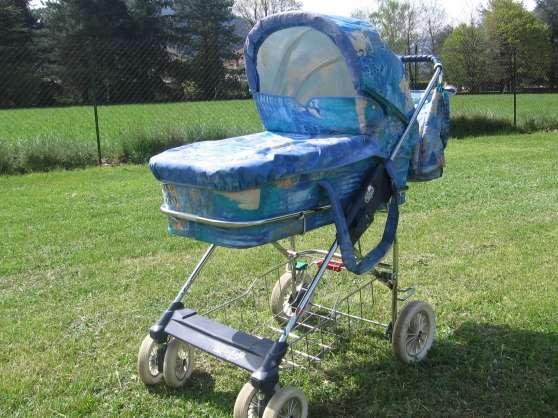 Petite Annonce : Poussette landau bébé confort complette - Vends poussette landau Bébé Confort Equipement Complet avec armature