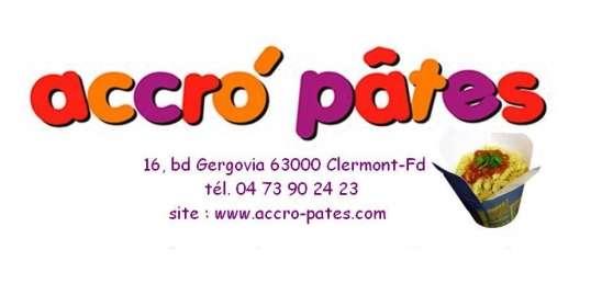 Accro'Pâtes bar à pâtes
