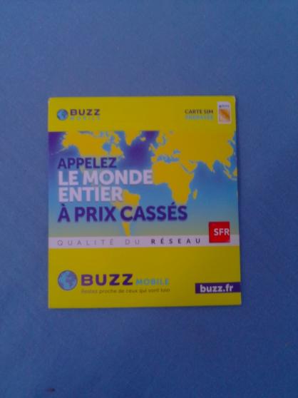 Carte sim Buzz mobile