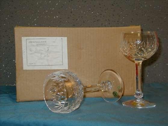 Rare verres CRISTALLERIE LORRAINE