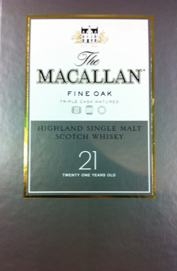 Annonce occasion, vente ou achat 'Whisky Macallan 21 years Fine Oak'