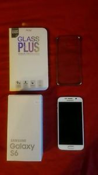 Annonce occasion, vente ou achat 'Samsung Galaxy S6 32go Blanc Neuf'