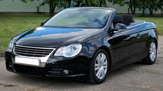 Volkswagen Eos noir 2.0TDI