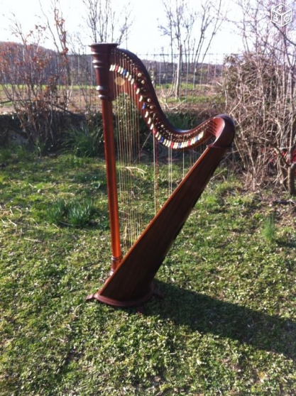 Annonce occasion, vente ou achat 'Harpe celtique Camac'