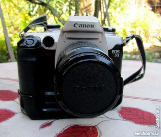 Petite Annonce : Appareil photo argentique canon eos5 - Superbe appareil photo argentique de collection CANON EOS50, vendu